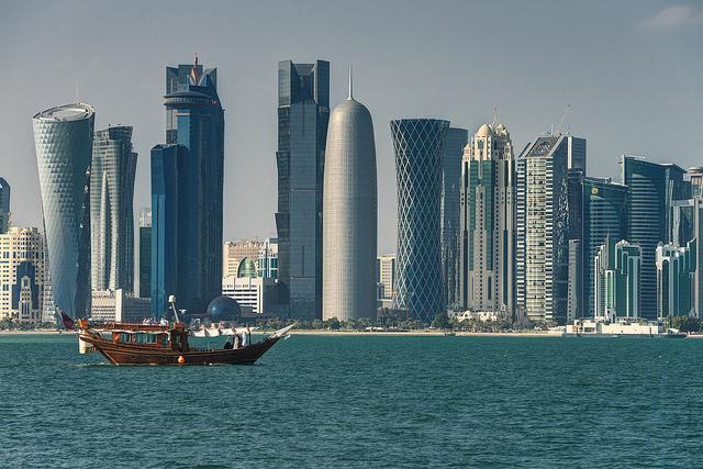 Доха, вид с моря